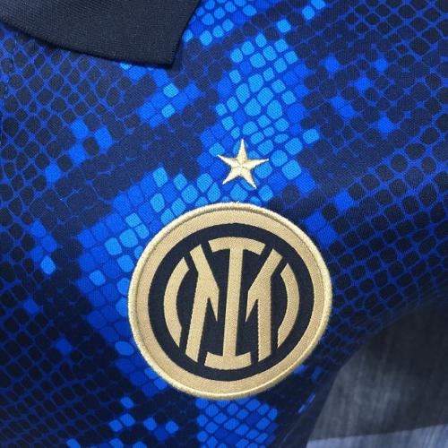 Inter Milan 21/22 Dark Blue Polo Shirts