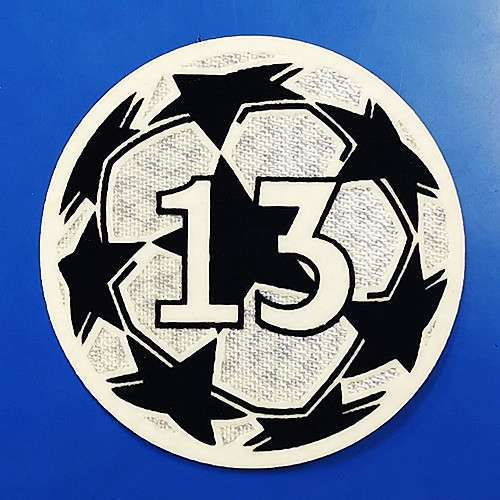 UCL Ball With 13 Trophy Patch
