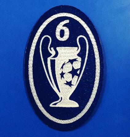 UCL 6 Trophy Retro Patch
