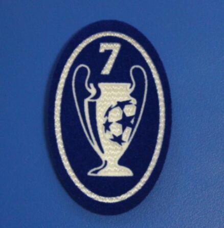 UCL 7 Trophy Retro Patch