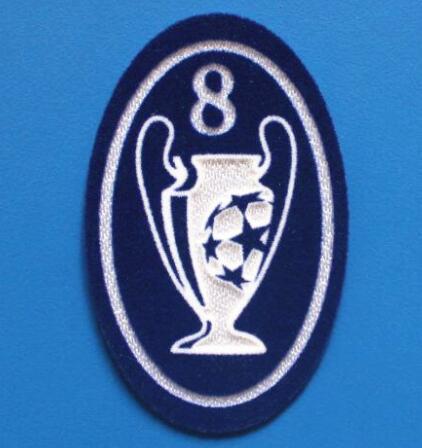 UCL 8 Trophy Retro Patch