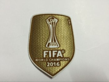 Real Madrid 2016 FIFA Club Champion Patch
