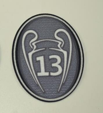 Real Madrid 13 Trophy Patch