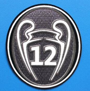 Real Madrid 12 Trophy Patch