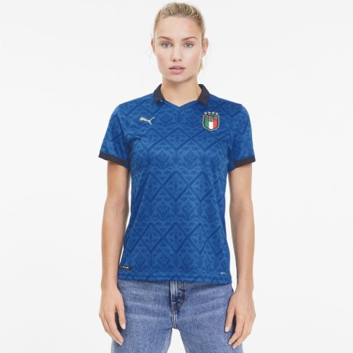 Italy Woman 2020 European Cup Home Jersey