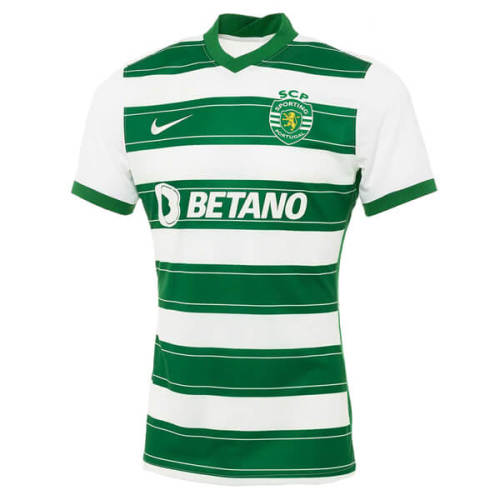 Sporting Lisbon 21/22 Home Soccer Jersey(Player)