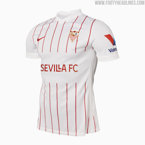 Sevilla 21/22 Home Soccer Jersey