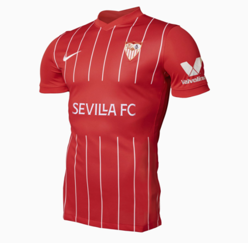 Sevilla 21/22 Away Red Soccer Jersey(Player)