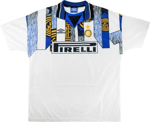 Inter Milan 1995/96 Away Soccer Jersey