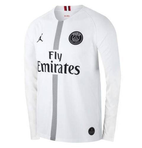Paris St Germain 18/19 Away White Long Jersey