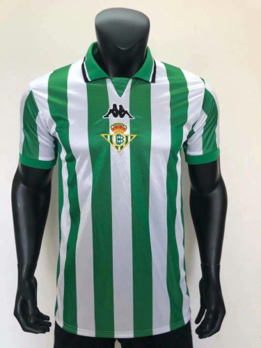 Real Betis 99/00 Home Soccer Jersey