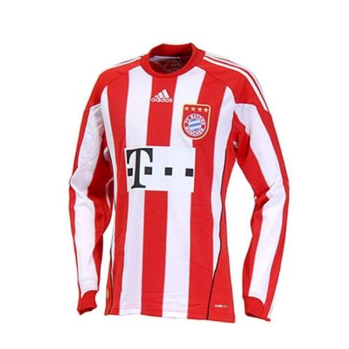 Bayern Munich 10/11 Home Long Soccer Jersey