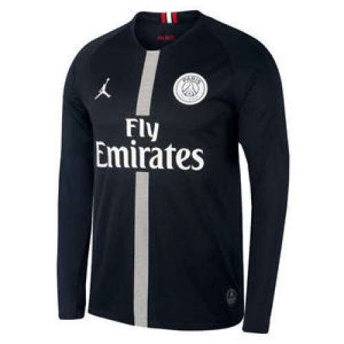 Paris St Germain 18/19 Third Black Long Jersey