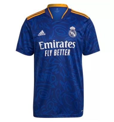 21-22 Thai Version Real Madrid away soccer Jersey