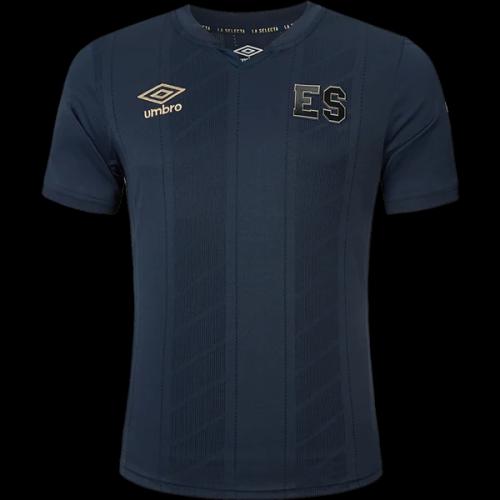 El Salvador 2021 Gold Cup Third Dark Grey Jersey