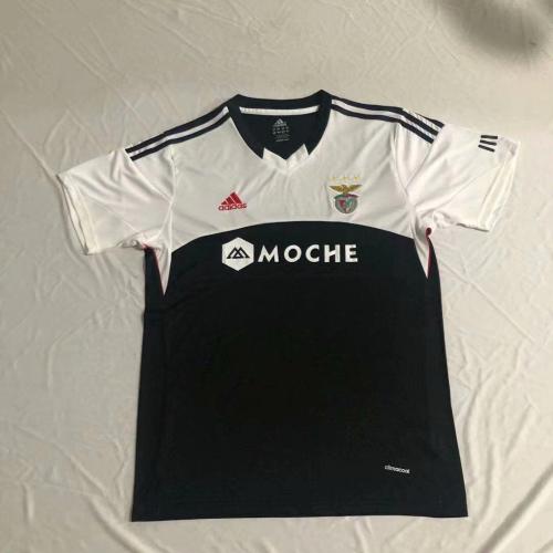 Benfica 13/14 Away Black/White Soccer Jersey
