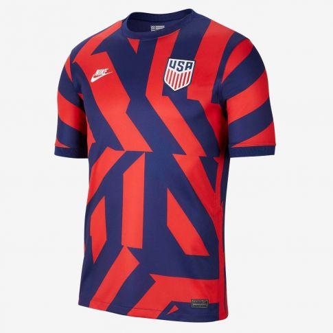 USA 21/22 Away Dark Blue/Red Jersey (Player)