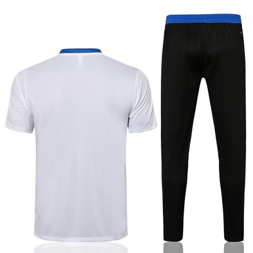 Real Madrid 21/22 White Training Kit Jerseys 3
