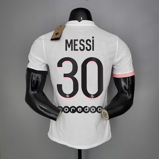 PSG 21/22 Away Messi #30 Soccer Jersey(Player)