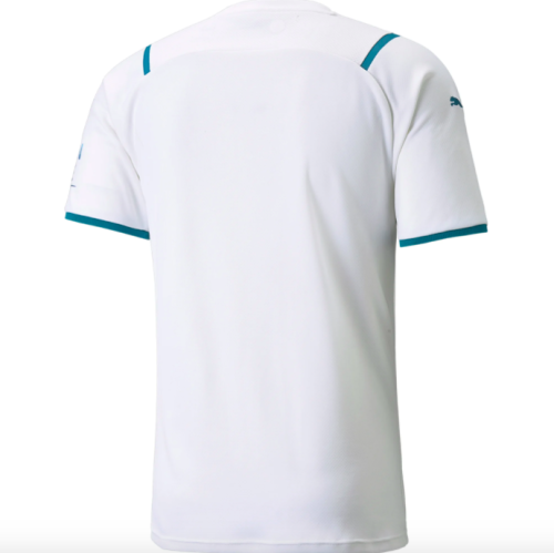 Manchester City 21/22 Away White Jersey(Player)