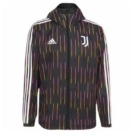 Juventus 21/22 Wind Coat - Black