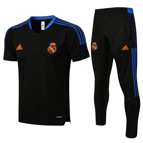 Real Madrid 21/22 Black Training Kit Jerseys