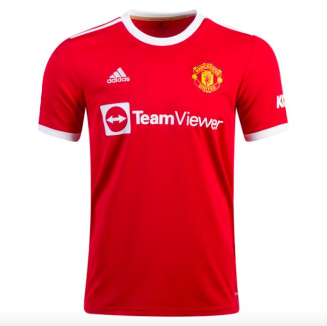 Manchester Utd 21/22 Home Soccer Jersey