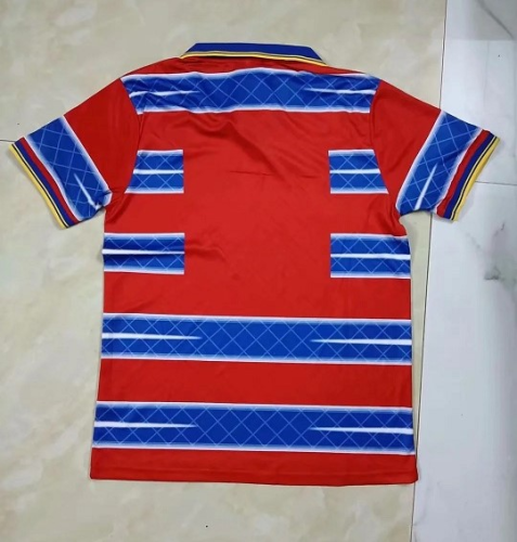 Parma 98/99 Away Red/Blue Soccer Jersey