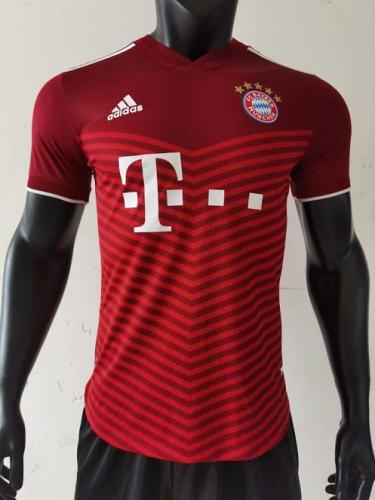 Bayern Munich 21/22 Home Soccer Jersey(Player)