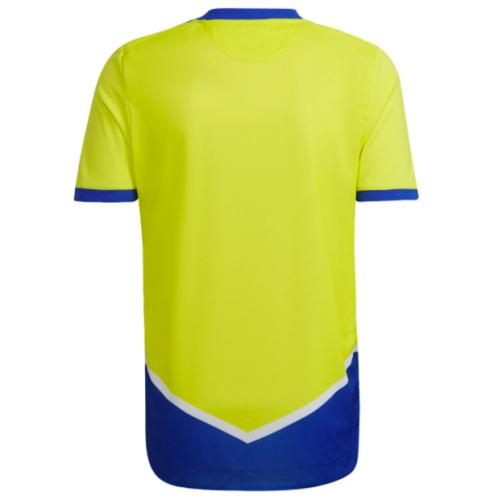 Juventus 21/22 Third Yellow/Blue Jersey(Player)