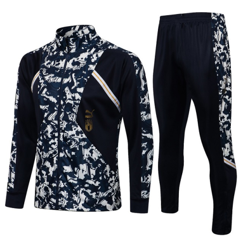Italy 21/22 Tracksuit - Black
