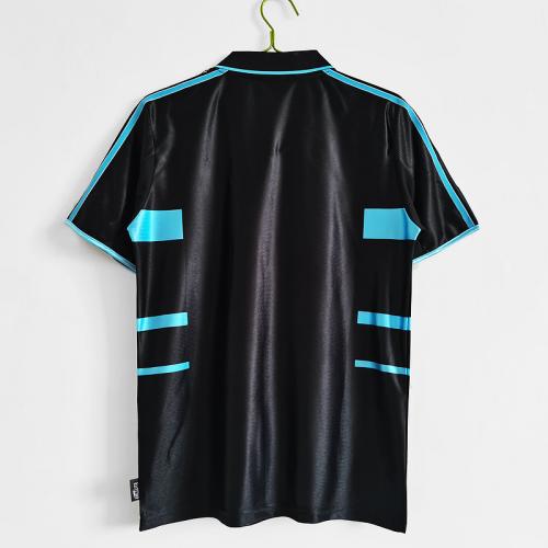 Marseille 99/00 Third Black Soccer Jersey