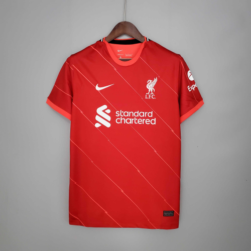 LIVERPOOL HOME SOCCER JERSEY 21/22