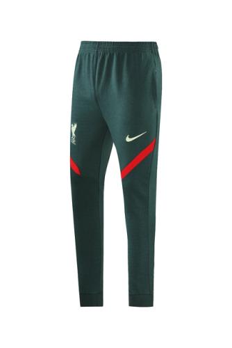 Liverpool 21/22 Dark Green Long Soccer Pants