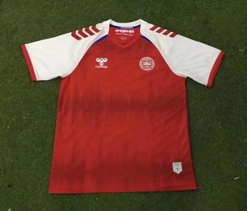 Denmark 21/22 Home Soccer Jersey