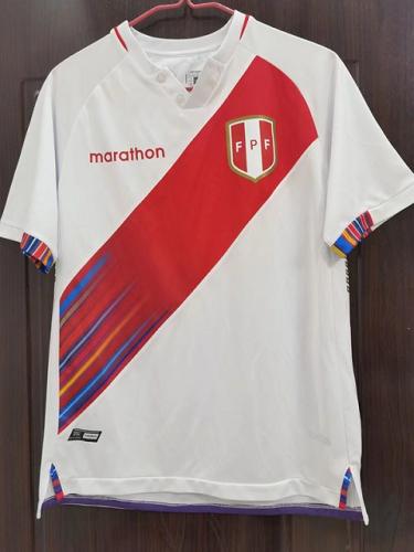 Peru 21/22 Home Soccer Jersey