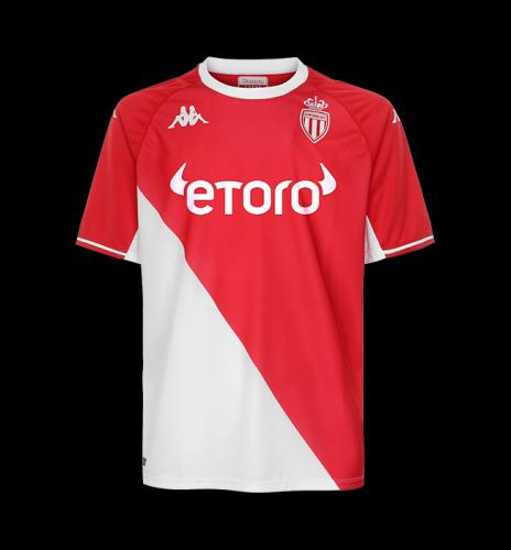 Monaco 21/22 Home Soccer Jersey