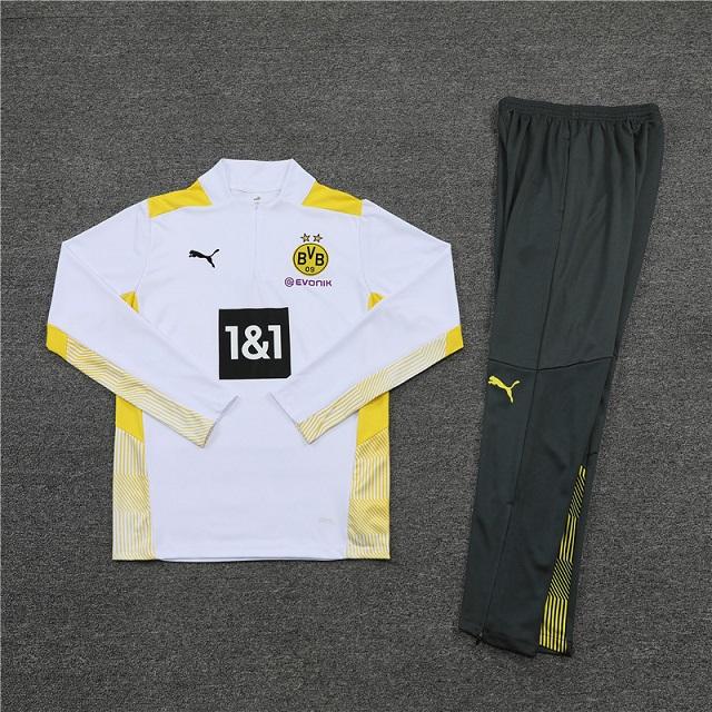 Dortmund 21/22 Tracksuit - White