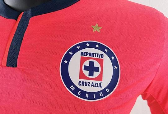 Cruz Azul 21/22 Third Red Soccer Jersey(Player)