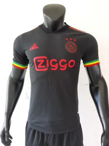 Ajax 21/22 Third Black Soccer Jersey(Player)