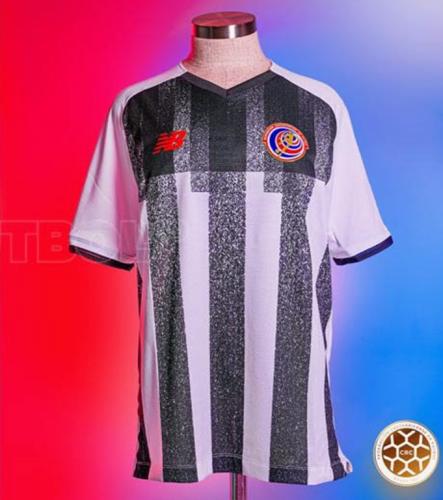 Costa Rica 21/22 Away White/Black Soccer Jersey