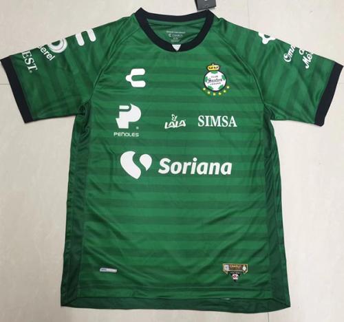 Santos Laguna 21/22 Away Green Soccer Jersey