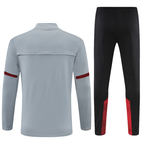 Manchester City 21/22 Tracksuit - Grey
