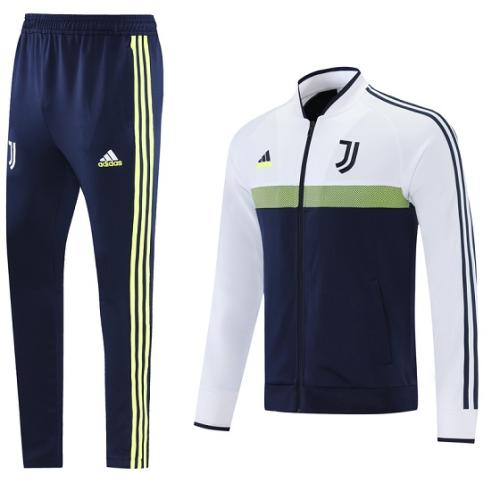 Juventus 21/22 Tracksuit - White/Green/Black