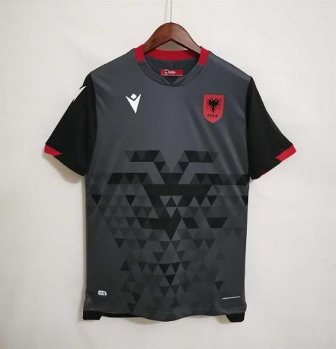 Albania 21/22 Third Grey Soccer Jersey