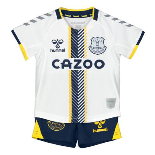 Kids-Everton 21/22 Third White Soccer Jersey