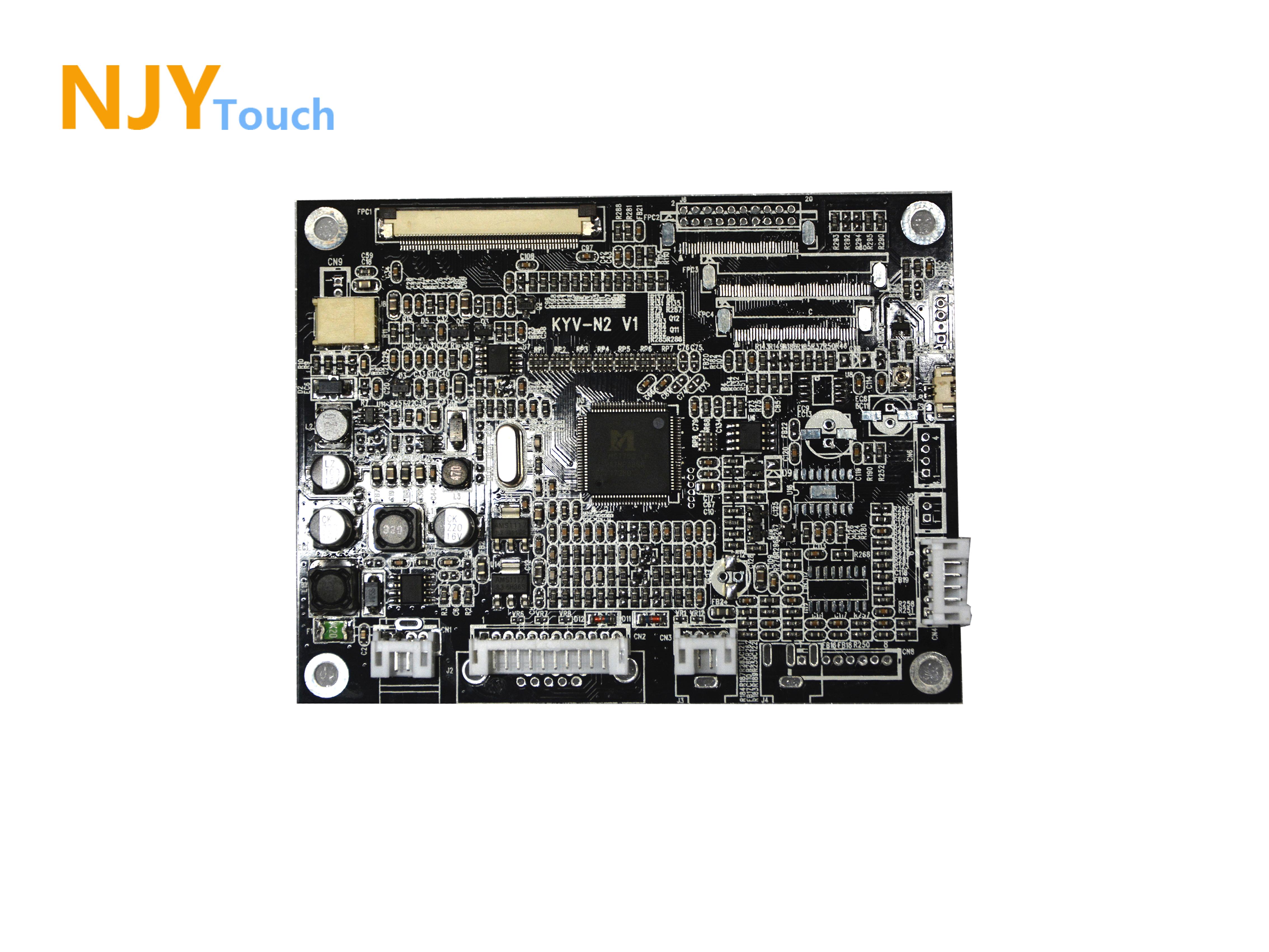 NJYTouch KYV-N2 V1 VGA AV LCD Controller Board For 10.4inch A104SN03 V1 800x600 LCD Screen