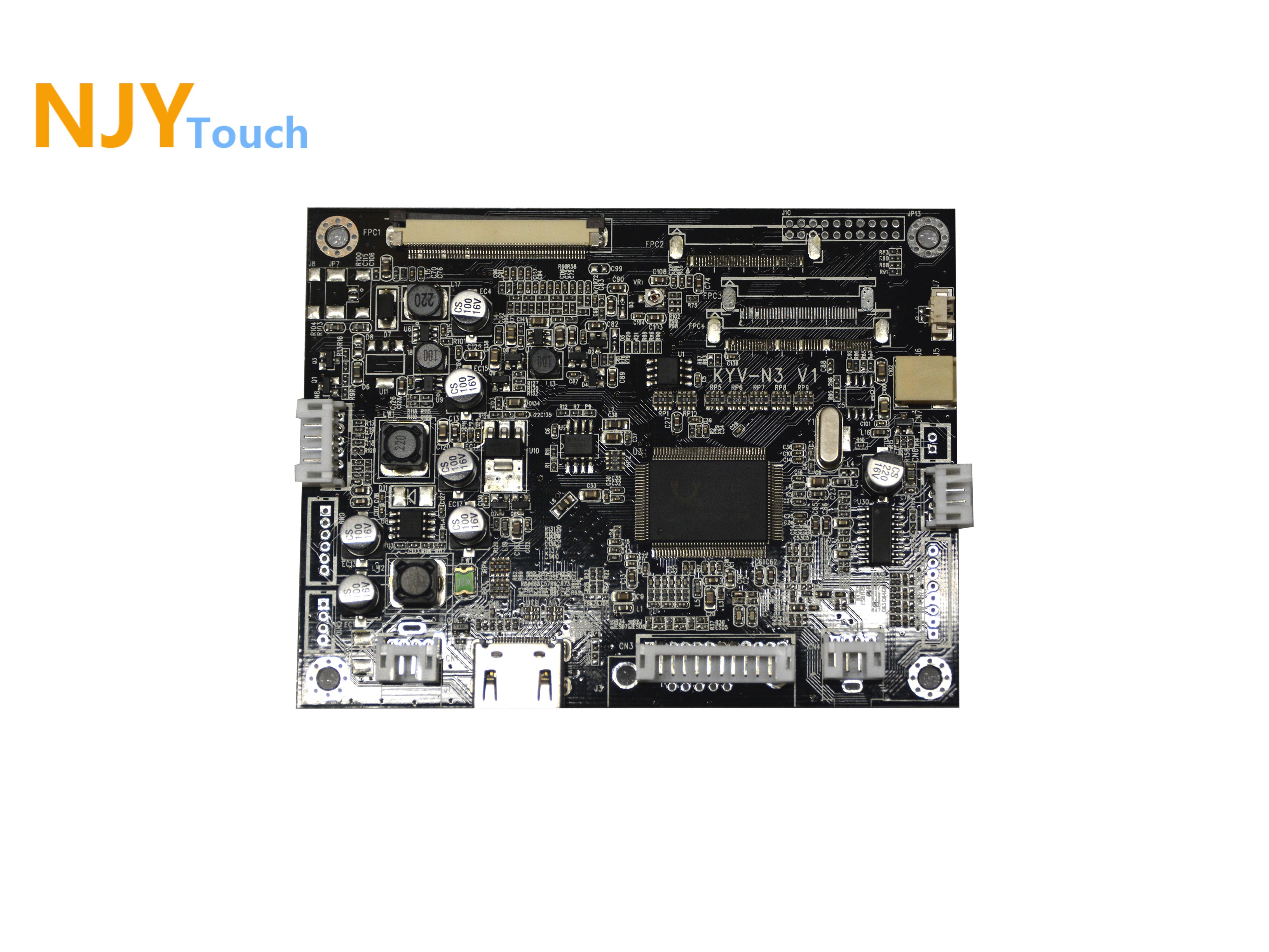 NJYTouch KYV-N3 V1 HDMI VGA AV LCD Controller Board For 10.4inch A104SN03 V1 800x600 LCD Screen
