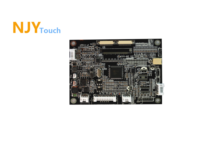 NJYTouch KYV N2 V2 VGA AV LCD Controller Board For 7inch AT070TN84 800x480 LCD Screen