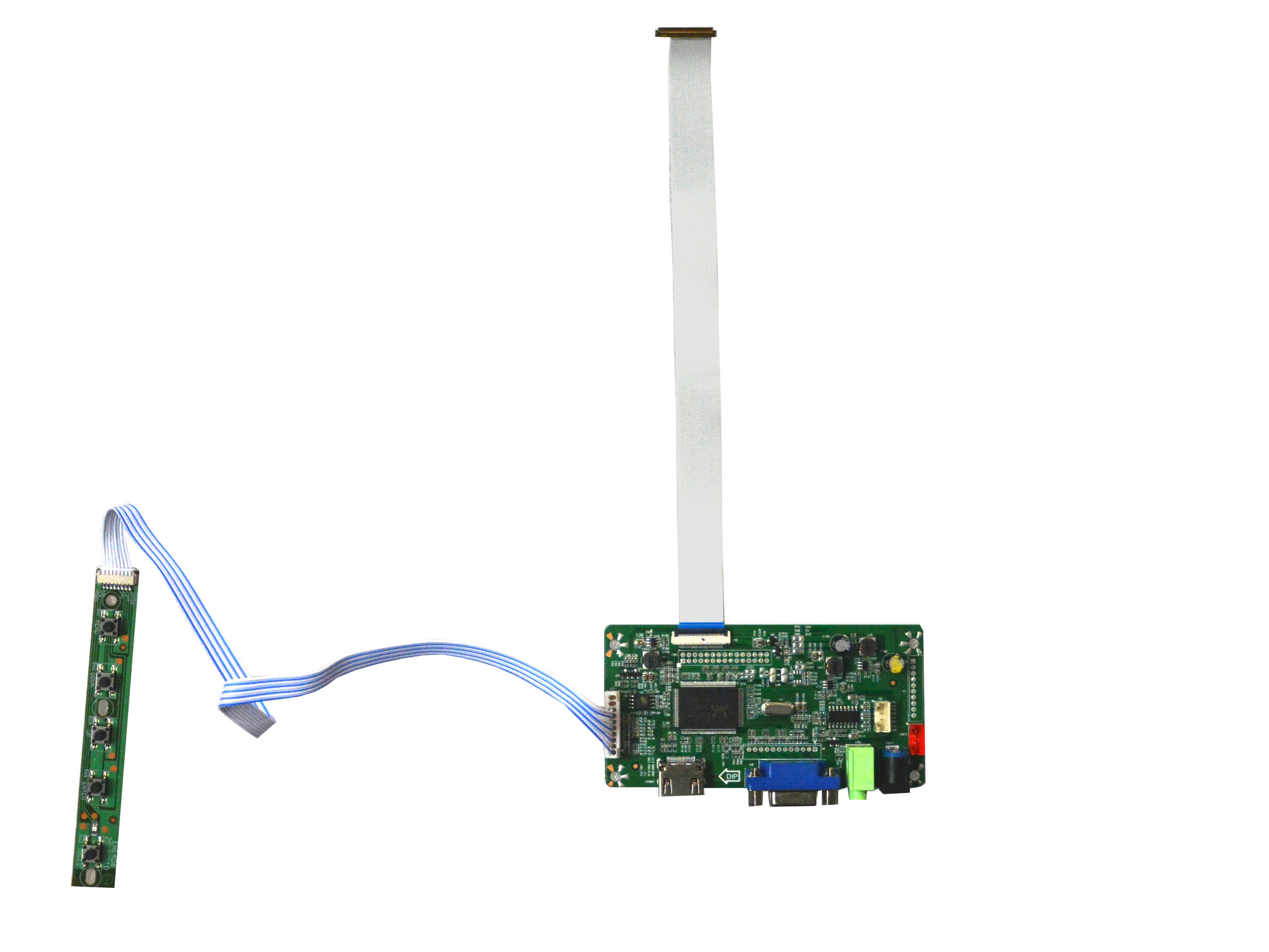 NJYTouch VGA HDMI eDP LCD Controller Board for B156XTT01.1 N156BGK-E33 1366X768 Screen